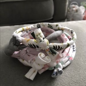 Other - Baby Girl Jersey Knotted Headband Set